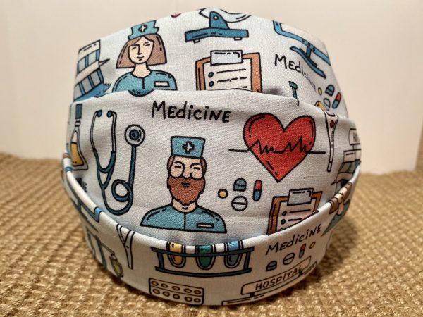 Mascarilla homologada sector sanitario