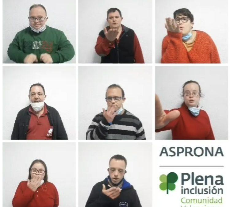 Asprona se suma al Día de la Discapacidad